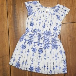 Carter's Blue & White Dress